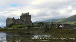 The famous Eilean Donan castle