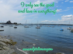 i only see the good and love