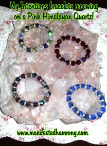 Intentions bracelets