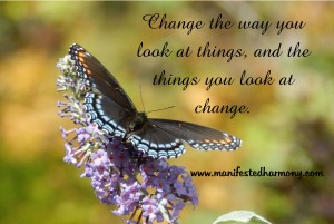 Change the way you look at thing