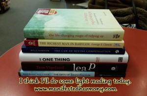 Light reading books