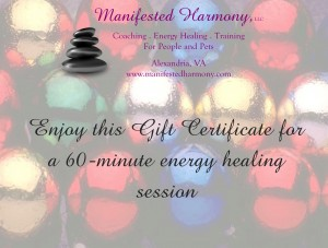 Holiday gift certificate - for website