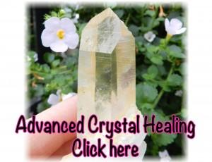 Advanced Crystal Healing class