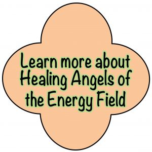 Healing Angels button
