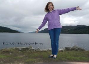 Happy in Loch Ness