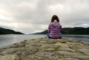 Meditating at Loch Ness