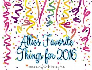 Favorite Things 2016